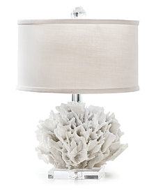 Regina Andrew Mini Ribbon Coral Table Lamp