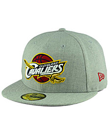 New Era Cleveland Cavaliers All Heather 59FIFTY Cap