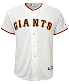 Francisco Giants Blank Replica Jersey, Big Boys (8-20)