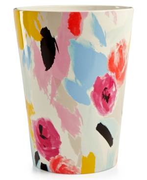 Kate Spade New York Paintball Floral Wastebasket Bedding