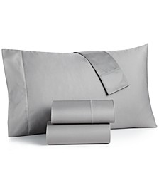 Queen 4-Pc Sheet Set, 550 Thread Count 100% Supima Cotton, Created for Macy's
