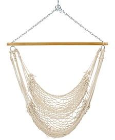 Pawleys Island Single Cotton Rope Swing, Quick Ship