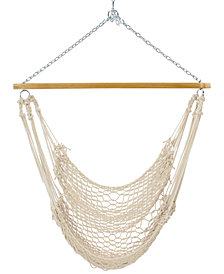 Pawleys Island Single Cotton Rope Swing, Quick Ship