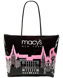 Macy's City Glitter Zip Tote, Created for Macy's