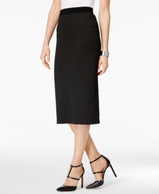 4e0cfefd69 Alfani Midi Pencil Skirt, Created for Macy's & Reviews - Skirts - Women -  Macy's