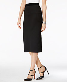 Alfani Petite  Midi Pencil Skirt, Created for Macy's