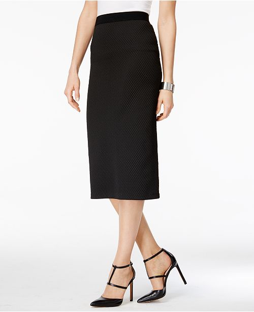 0d17a994ed Alfani Midi Pencil Skirt, Created for Macy's & Reviews - Skirts ...