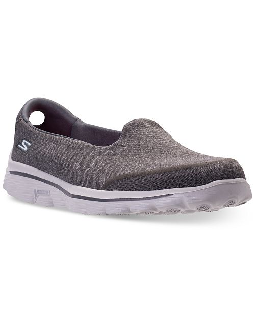 Skechers. Women's GOwalk 2 Super Sock - Courage Casual Walking Sneakers from Finish Line. 3 reviews. main image; main image ...