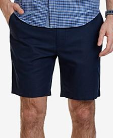 """Men's 8-1/2"""" Classic-Fit Linen Blend Shorts"""