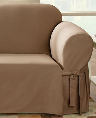 Sure Fit Duck Sofa Slipcover Slipcovers For The Home