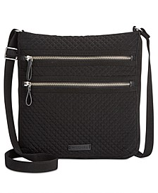 Iconic Triple-Zip Hipster Crossbody