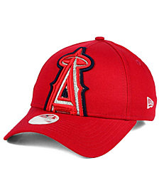 New Era Women's Los Angeles Angels of Anaheim Glitter Glam 9FORTY Strapback Cap