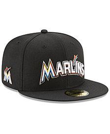 New Era Miami Marlins Pintastic 59FIFTY Cap