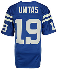 Mitchell & Ness Men's Johnny Unitas Baltimore Colts Replica Throwback Jersey
