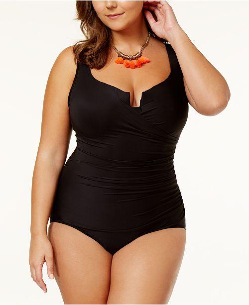 d0b7f8b268 ... Miraclesuit Plus Size Escape One-Piece Swimsuit With Underwire ...