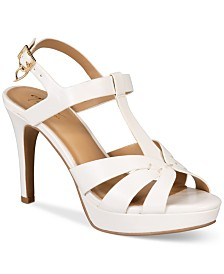 Thalia Sodi Verrda Platform Dress Sandals, Created for Macy's