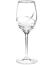 Waterford Stemware, Ballet Ribbon Essence Platinum Wine Glass