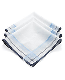 Club Room Handkerchiefs, 3 Pack Handkerchief Box Set