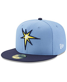 New Era Tampa Bay Rays Batting Practice Diamond Era 59FIFTY Cap