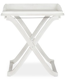 Elba Outdoor Tray Table, Quick Ship