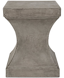 Almer Outdoor Accent Table, Quick Ship