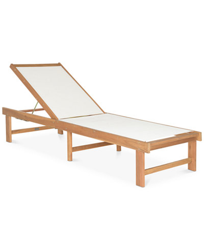 Tesner Outdoor Lounge Chair, Quick Ship