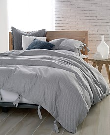 DKNY PURE Cotton Stripe Full/Queen Duvet Cover