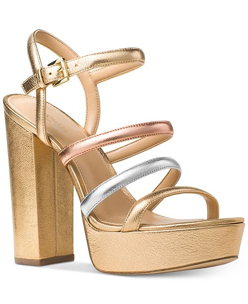 a0c0feca016e Michael Kors Nantucket Platform Sandals  Michael Kors Nantucket Platform  Sandals ...