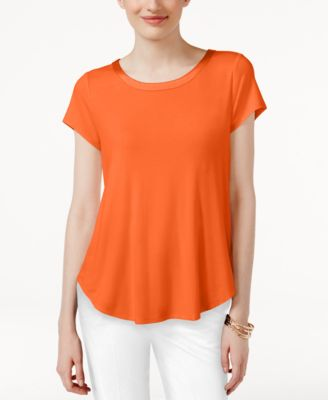 Image of Alfani High-Low T-Shirt, Only at Macy's