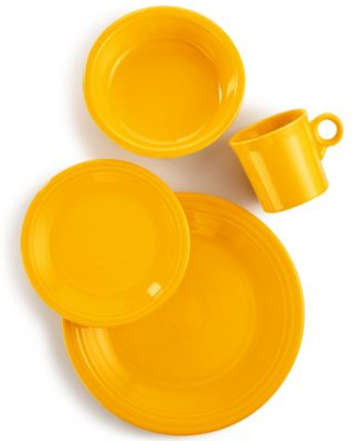 main image; main image ...  sc 1 st  Macyu0027s & Fiesta 4-Piece Place Setting - Dinnerware - Dining u0026 Entertaining ...