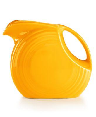 Daffodil Large 67-Oz. Disk Pitcher