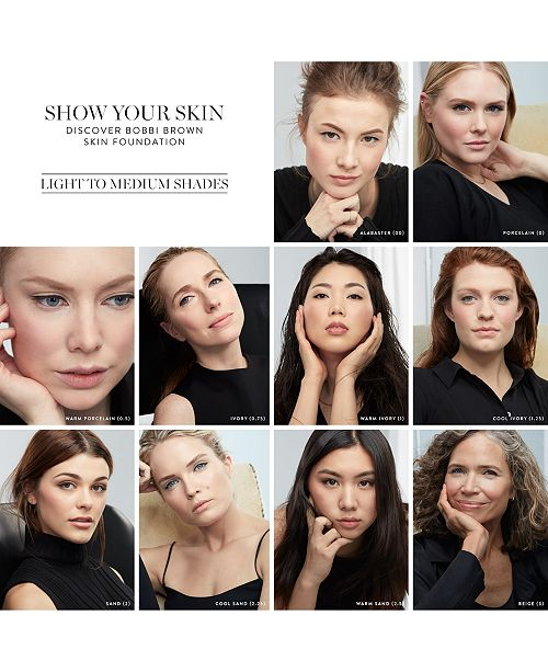 Bobbi Brown Skin Foundation Spf 15 1 Oz Makeup Beauty Macys