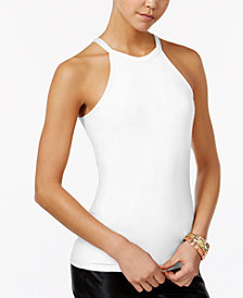 Planet Gold Juniors' Racerback Tank Top