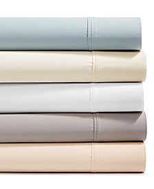 Brookstone 4-pc Sheet Sets, 500 Thread Count 100% Cotton Sateen, Created for Macy's