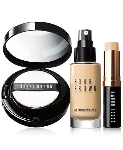 Bobbi Brown Skin Foundation Collection