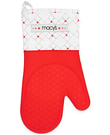 Macy's Silicone Fabric Oven Mitt, Created for Macy's