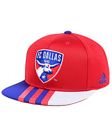 adidas FC Dallas Authentic Team Snapback Cap