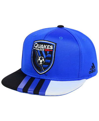 adidas San Jose Earthquakes Authentic Team Snapback Cap