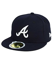 Kids' Atlanta Braves Authentic Collection 59FIFTY Cap