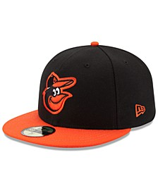 Kids' Baltimore Orioles Authentic Collection 59FIFTY Cap