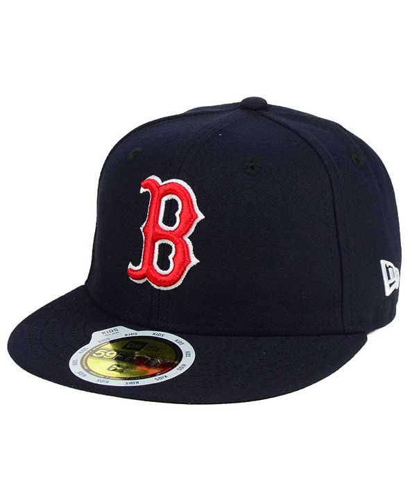 New Era Kids' Boston Red Sox Authentic Collection 59FIFTY Cap