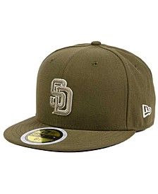 Kids' San Diego Padres Authentic Collection 59FIFTY Cap