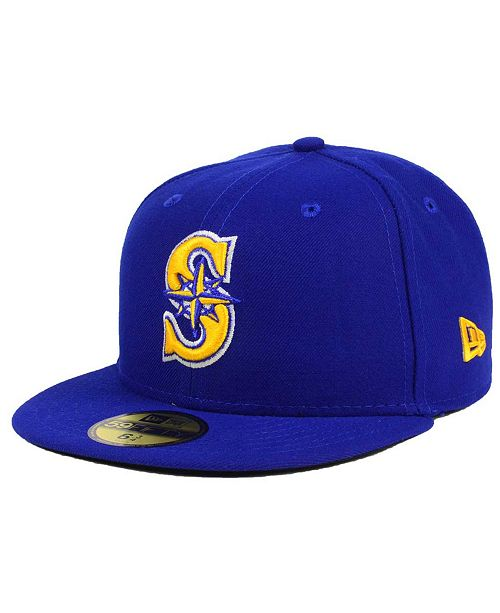 competitive price e6377 921c9 ... 59FIFTY Cap  New Era Kids  Seattle Mariners Authentic Collection 59FIFTY  ...