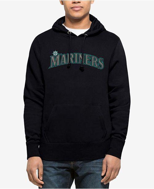 '47 Brand Men's Seattle Mariners Sport Raglan Hoodie