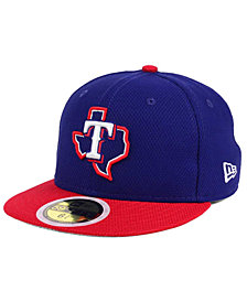 New Era Kids' Texas Rangers Batting Practice Diamond Era 59FIFTY Cap
