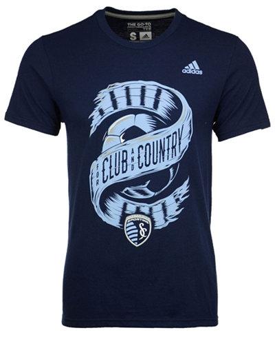 adidas Men's Sporting Kansas City Club & Country T-Shirt