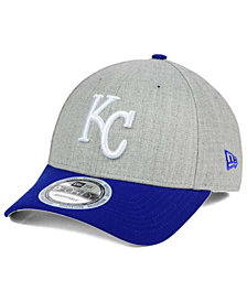New Era Kansas City Royals Heather Hit 9FORTY Cap