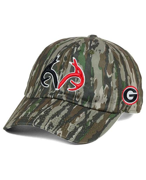 best loved 39883 d55d1 ... Top of the World Georgia Bulldogs Prey Easy Adjustable Cap ...