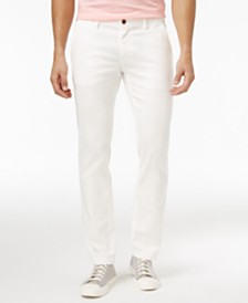 Men's White Pants: Shop Men's White Pants - Macy's