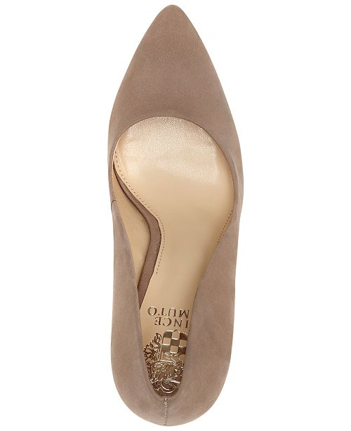 48e1bf193 Vince Camuto Talise Pointed Block-Heel Pumps & Reviews - Pumps ...